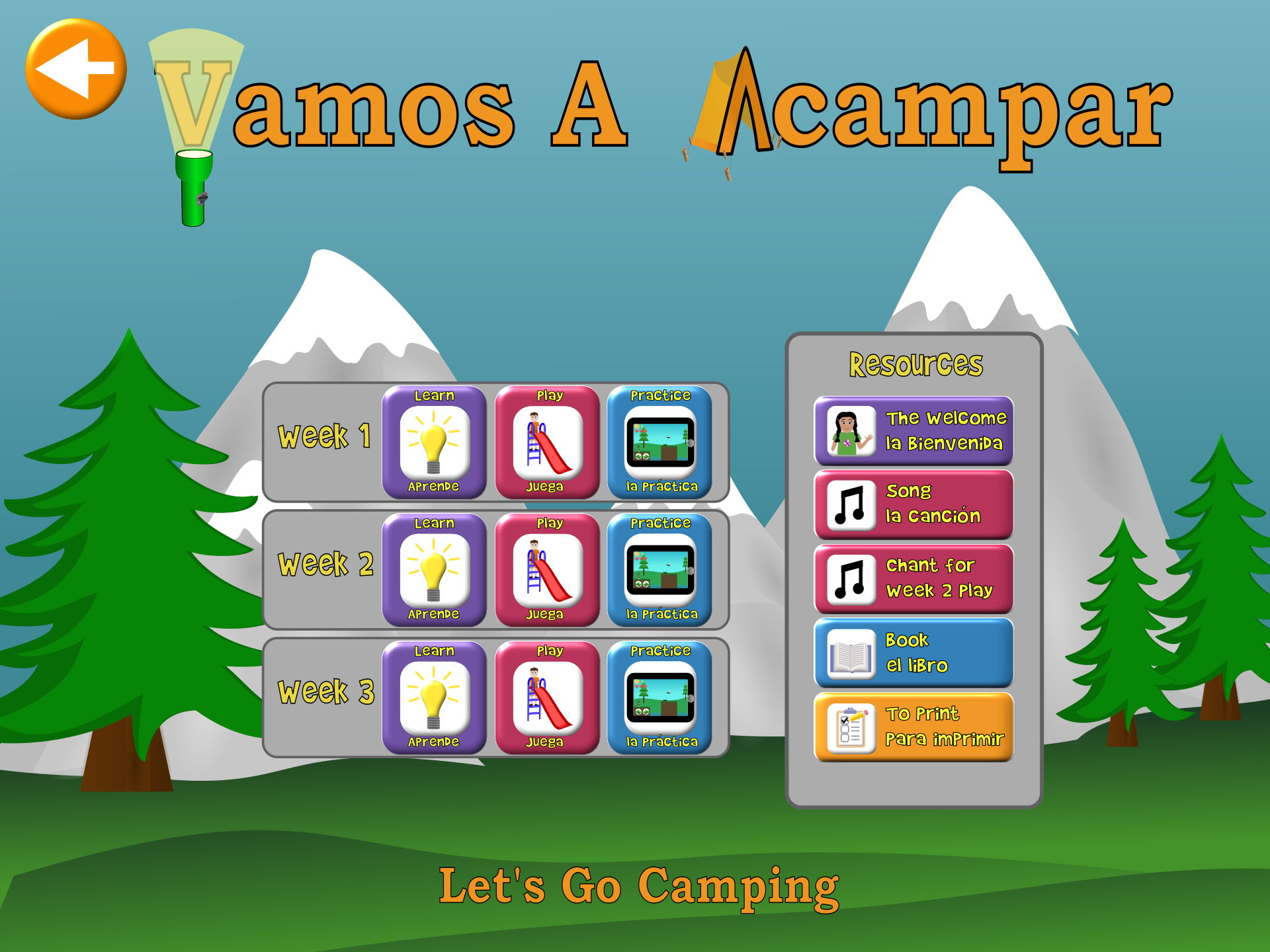 Camping Lessons