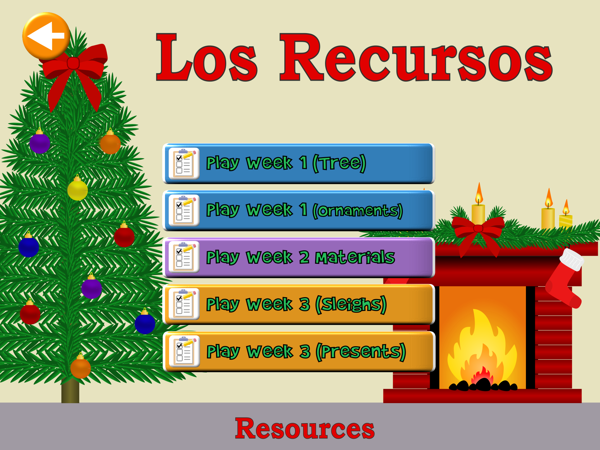 Holiday – Resources