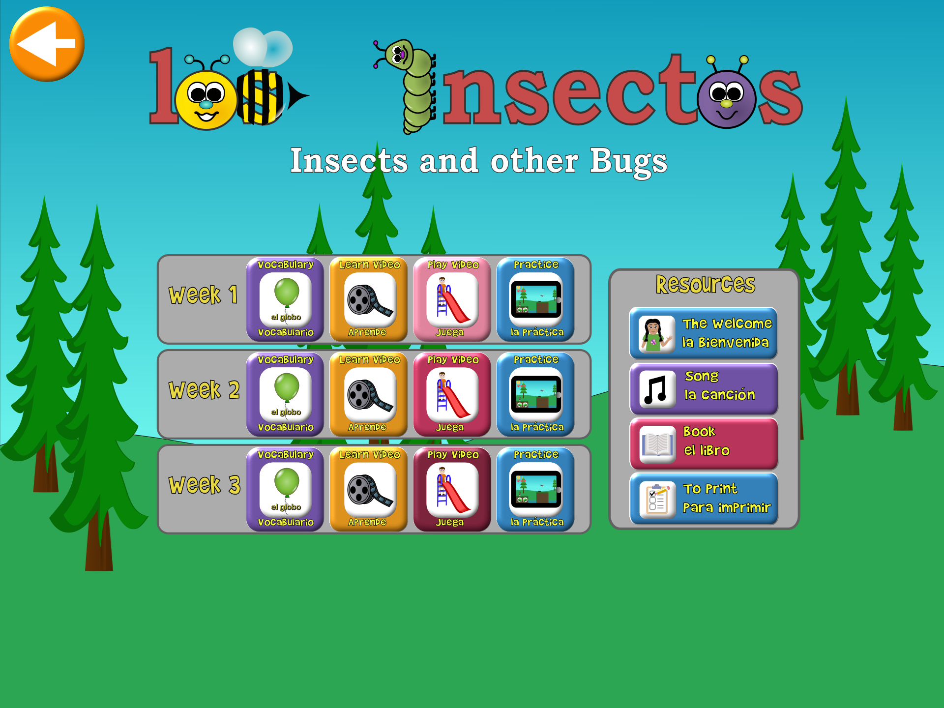 Insects Lesson Select