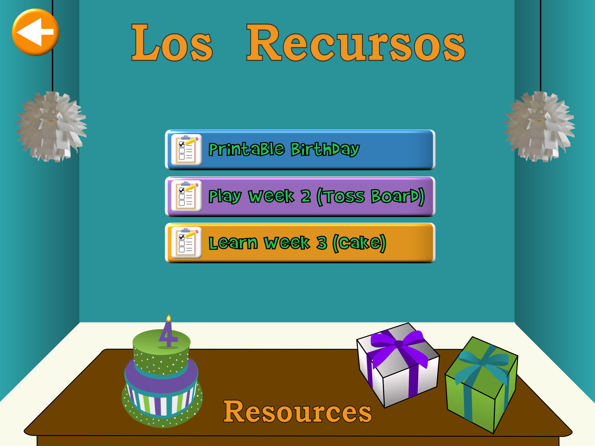 Birthday Resources